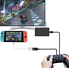 TNP Controller Converter Adapter for Nintendo Switch, Compatible with PS4, PS3, Xbox ONE, Xbox 360, Xbox Elite Controller - Support TV Mode Handheld Tablet Mode with USB Type C OTG Cable