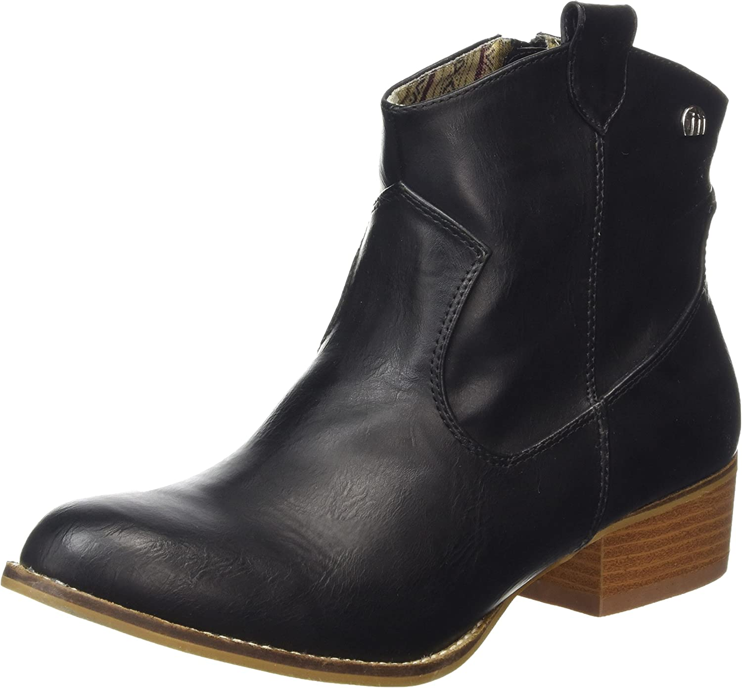 MTNG Mustang Womens 58412 Western Ankle Boot shoes