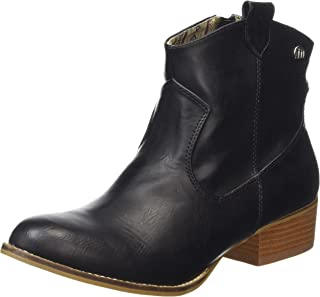 Mustang Womens 58412 Western Ankle Boot Shoes