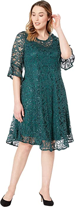 Sophia Sequin Lace Dress