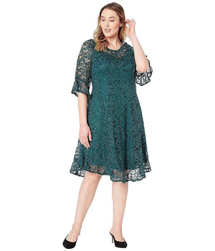 f082219d9d18e Kiyonna Sophia Sequin Lace Dress | Zappos.com