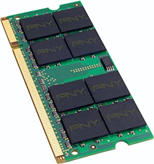 PNY Optima 2GB DDR2 667 MHz PC2-5300 Notebook/Laptop SODIMM Memory Module MN2048SD2-667