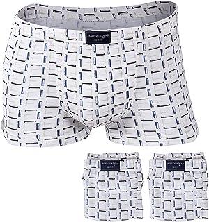 Godsen Men's Cotton Classic Boxer Brief Underwear 3-Pack
