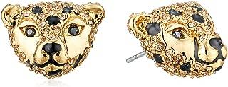 Kate Spade New York Womens Run Wild Cheetah Stud Earrings