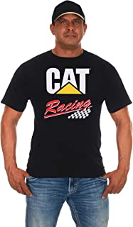 Men's Throwback Jeff Burton CAT Racing Nascar T-Shirt