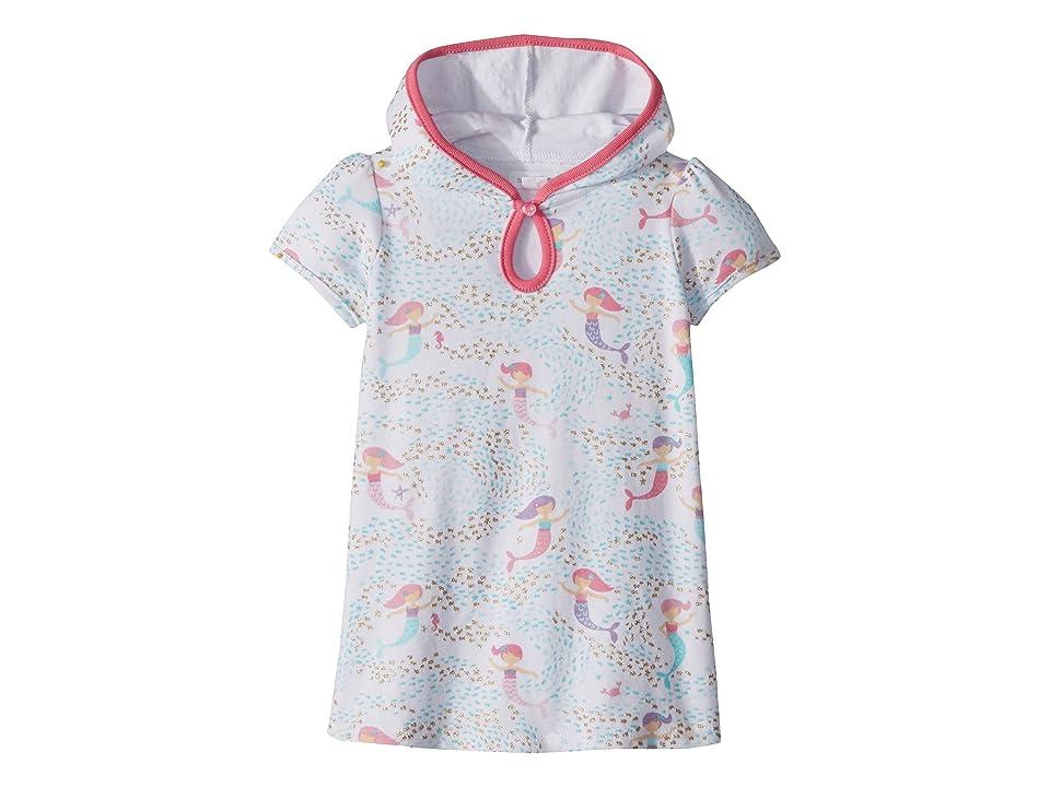 Mud Pie Mermaid Swimsuit Cover-Up (Infant/Toddler) (White) Girl