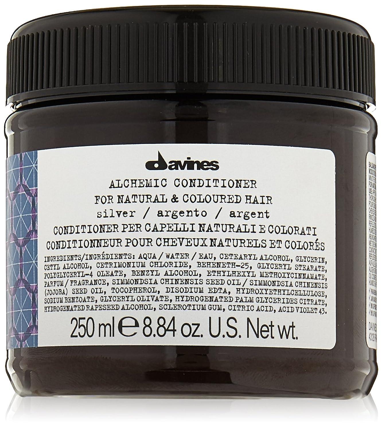 道に迷いました金属後世ダヴィネス アルケミック コンディショナー シルバー (ナチュラル&染めた髪用) 250ml/8.45oz並行輸入品