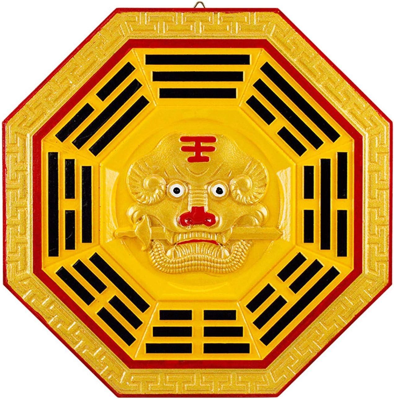 XILIN-1987 Fees free Feng Shui Mirror Tiger Finally popular brand Chin Bagua Head Pendant