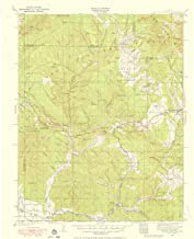 YellowMaps Pagosa Springs CO topo map, 1:125000 Scale, 30 X 30 Minute, Historical, 1924, Updated 1958, 20.3 x 16.5 in