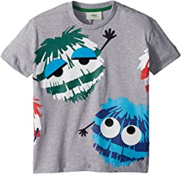 Short Sleeve Logo Fur Monster Graphic T-Shirt (Toddler)