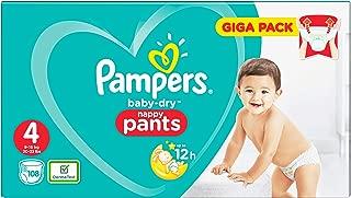 Pampers Baby-Dry 81681812 pañal desechable Niño/niña 4