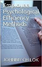 Employee Psychological Efficiency Methods