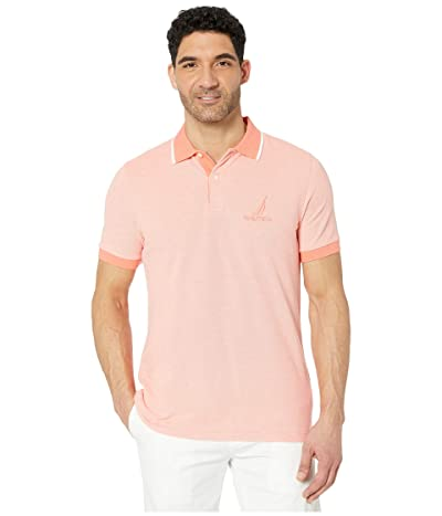 Nautica Oxford Polo (Orange) Men