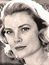 Doppelganger33 Ltd Painting Portrait Movie Film Actress Grace Kelly Canvas Art Print