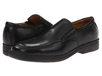 Geox Kids Jr Federico 2 (Big Kid) (Black) Boys Shoes