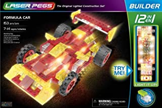Laser Pegs 12 in 1 Formula car Genuine