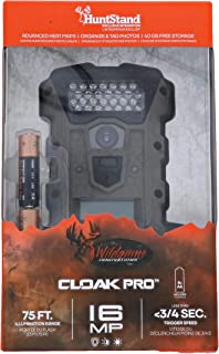 Wildgame Innovations Cloak Pro 16MP Trail & Game Camera (8X AA Batteries Included)