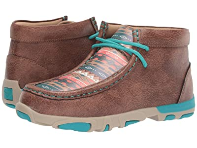 M&F Western Kids Landry (Toddler/Little Kid) (Brown) Cowboy Boots