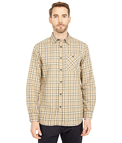 The North Face Hayden Pass 2.0 Shirt (Hawthorne Khaki Heritage Mini Three-Color Plaid) Men