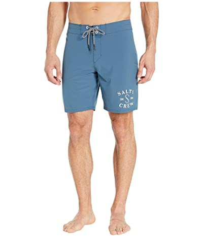 Salty Crew Ahi Boardshorts (Blue) Men