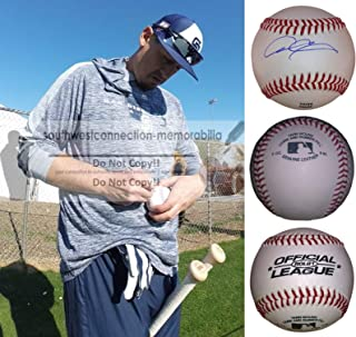 Allen Craig St. Louis Cardinals Autographed Hand Signed Baseball with Exact Proof Photo of Signing and COA, Boston Red Sox, San Diego Padres