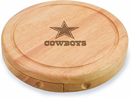 NFL Dallas Cowboys Brie Cheese Board/Tool Set, 7-1/2 Inch