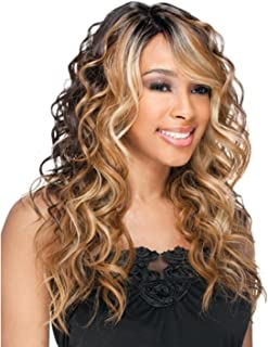Freetress Equal Synthetic Lace Front Deep Invisible Part Wig - Bently-1 Jet Black
