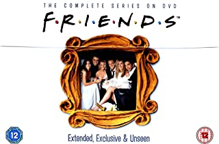 Friends: The Complete Series | DVD | Box Set 1-10 | Extended, Exclusive & Unseen Edition