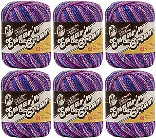 Bulk Buy: Lily Sugar'n Cream Yarn Ombres (6-Pack) Jewels 102002-201