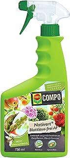 Compo Nativert Blattlaus-frei AF, Bekämpfung von saugenden Insekten an Zierpflanzen, Obst und Gemüse, 750 ml