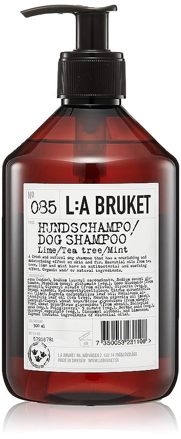 部分的にハシーパキスタンL:a Bruket (ラ ブルケット) ドッグシャンプー(ライム?ティーツリー?ミント)500ml