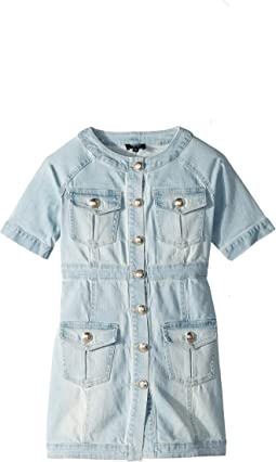 Mila Denim Dress (Big Kids)