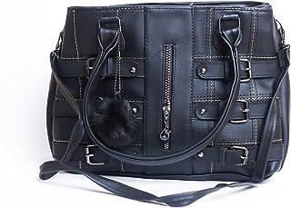 حقيبة للنساء-اسود - حقائب يد كبيرة بحمالة