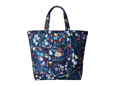 Herschel Supply Co. Bamfield Mid-Volume (Royal Hoffman) Tote Handbags