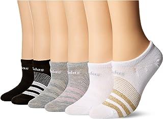 Adidas Calcetines Ocultos, superlivianos, Paquete de 6, para Mujer