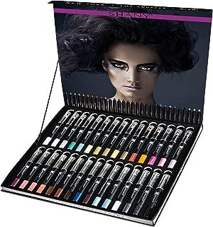 SHANY Cosmetics Combo Eye Shadow, Eyeliner, Lip Liner, Lipstick -Set Of 30 Colors