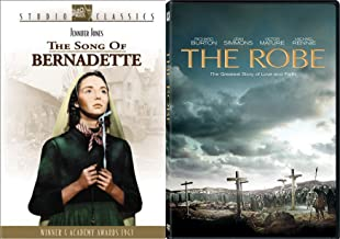 Having Faith Collection 2-DVD Bundle - The Song of Bernadette & The Robe 2-Movie Bundle