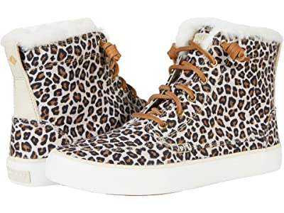 Sperry Crest High Top Animal Print Textile
