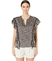 GREY Jason Wu - New Meadow Print Ruffle Blouse