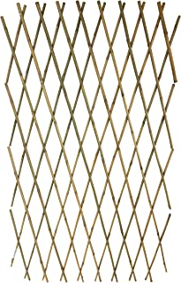 Expandable Bamboo Poles Trellis with Aluminum Rivets, 36