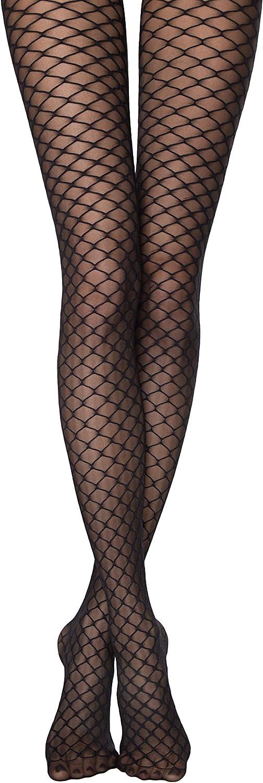 Conte elegant Tights ROXY Fantasy Black Fishnet Imitation Pattern 20 Den Pantyhose