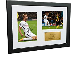 Kitbags & Lockers A4 Signed Harry Kane Tottenham Hotspur Spurs Autographed Photo Photograph Picture Frame Gift 12x8 2