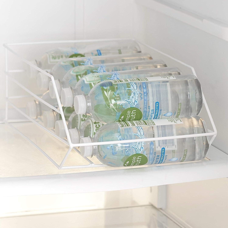 Water Bottle Organizer for Refrigerator - Kitchen Storage - Wire