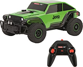 Carrera RC Jeep Trail cat Vehicle,Green