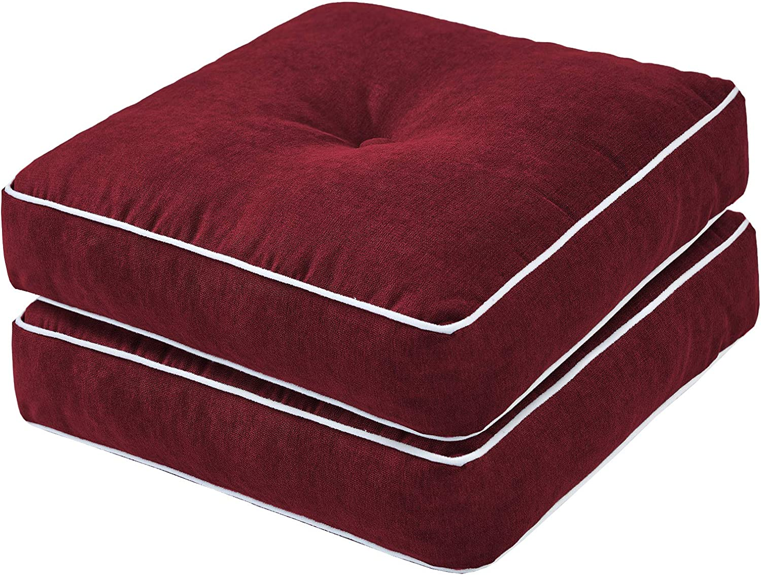 Rainlin Ranking price TOP3 Thicken Floor Pillows for Thick Sea Solid Tufted Seating