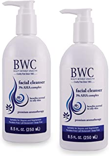 Beauty Without Cruelty A.H.A. 3% Facial Cleanser, 8.5 oz/ea (2-pack)