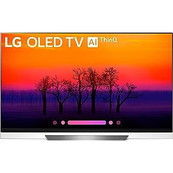 LG Electronics OLED65E8PUA 65-Inch 4K Ultra HD Smart OLED TV (2018 Model)