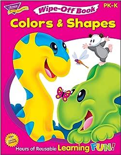 Trend Enterprises Inc. Colors & Shapes Wipe-Off Book, 28 pgs