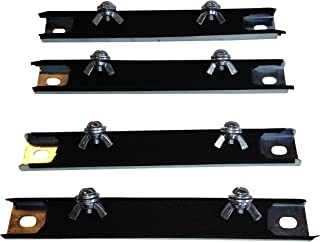 Four (4) Magnetic License Plate Holders, Magnet, Tag, Plate, Test Drive, Dealer