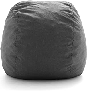 Big Joe Fuf Foam Filled Bean Bag, Large, Gray Union